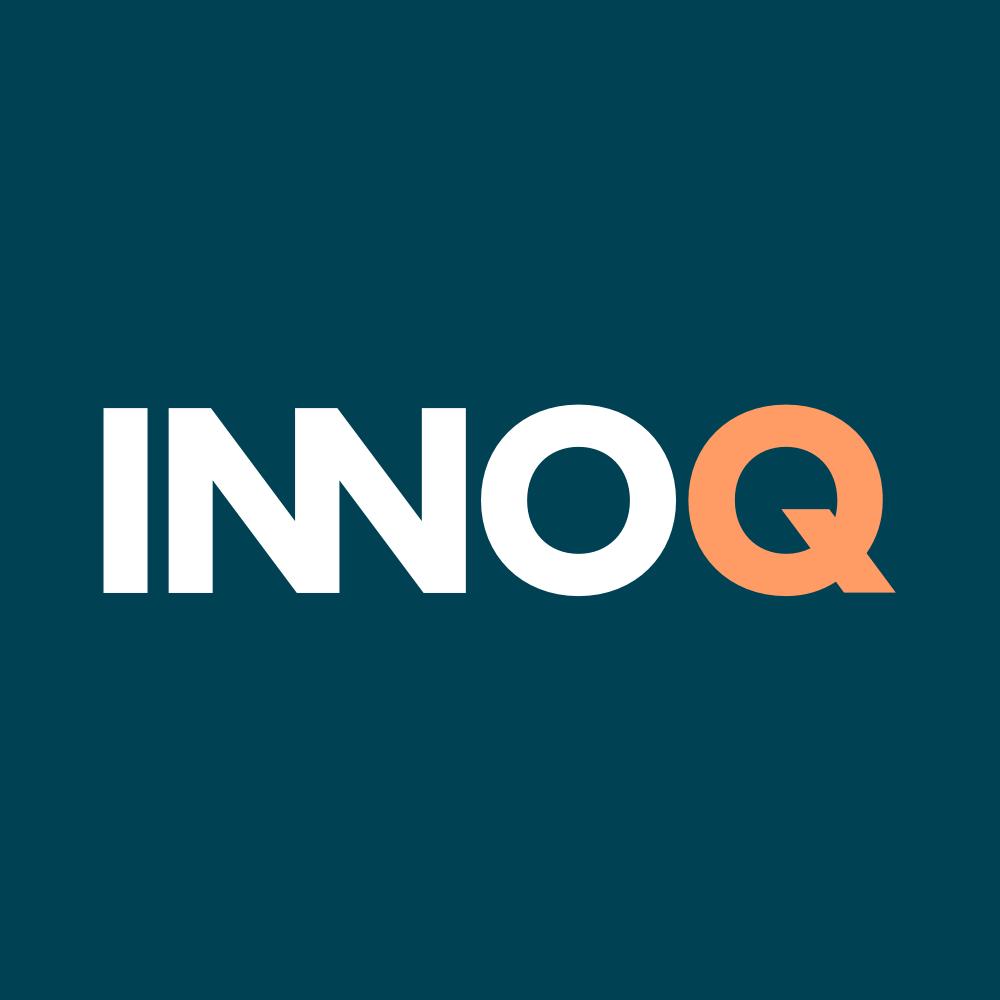 Innoq logo square  whiteapricot
